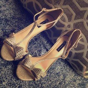 I.N.C. Reese Rhinestone Bow Evening Heels